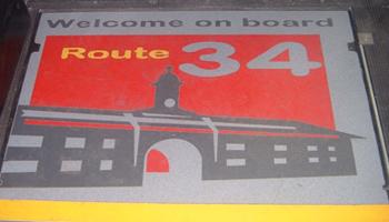 Tarabus Logo Route34